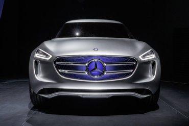 Mercedes-Benz G-Code concepto