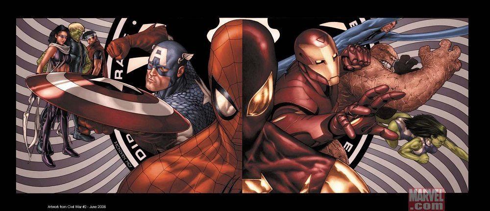Spider-Man in Civil War