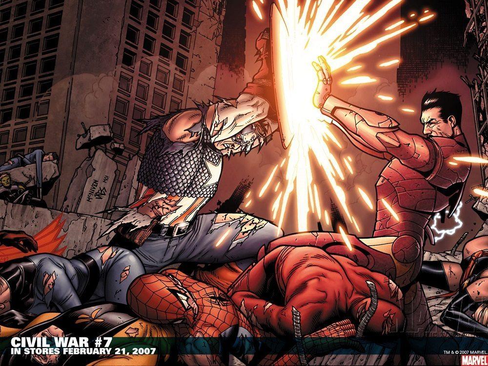 Spiderman-Dead-Civil-War