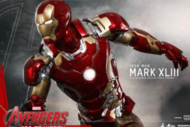 Armadura de Iron Man en Avengers: Age of Ultron