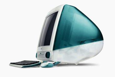 iMac (1997) Primer trabajo de Jony Ive en Apple