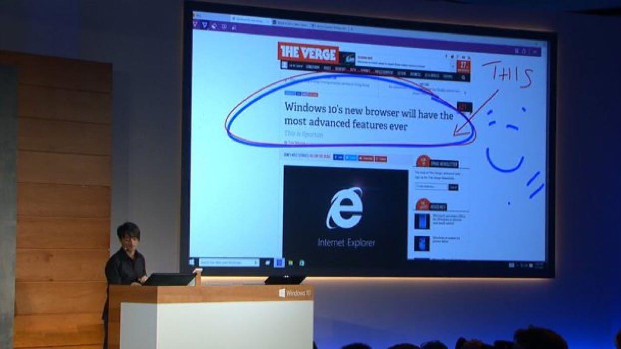 Spartan en Windows 10