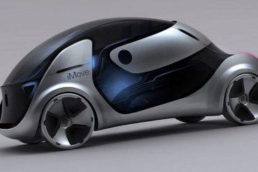 Auto de Apple concepto