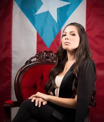 Alexandra Lúgaro se lanza candidatura gobernación Puerto Rico