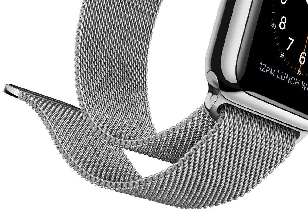 Apple Watch con correa Milanese