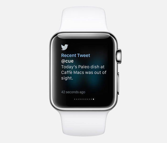Twitter Apple Watch app