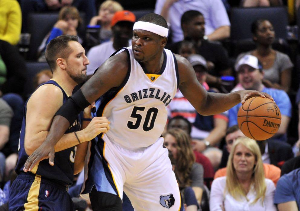 Zach Randolph Grizzlies Memphis