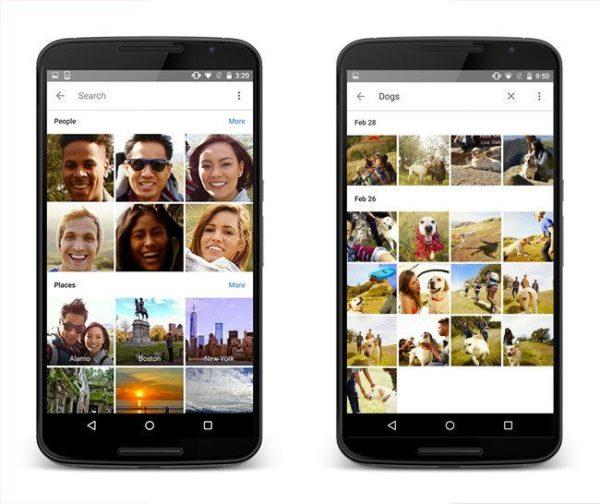 Google Photos para iOS y Android