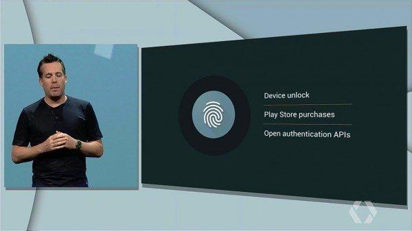 Soporte para Huellas Dactilares en Android M