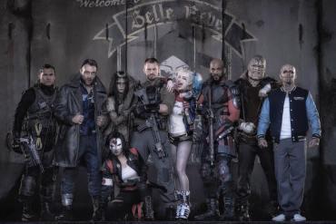 Suicide Squad foto grupal