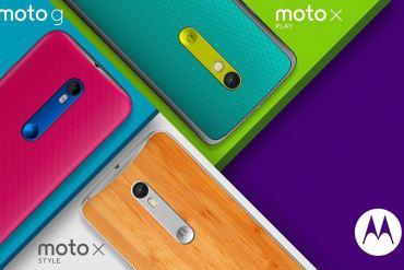 Nueva familia Motorola 2015: Moto G 20150, Moto X Style y Moto X Play