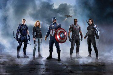 Captain America: Civil War - equipo Captain America