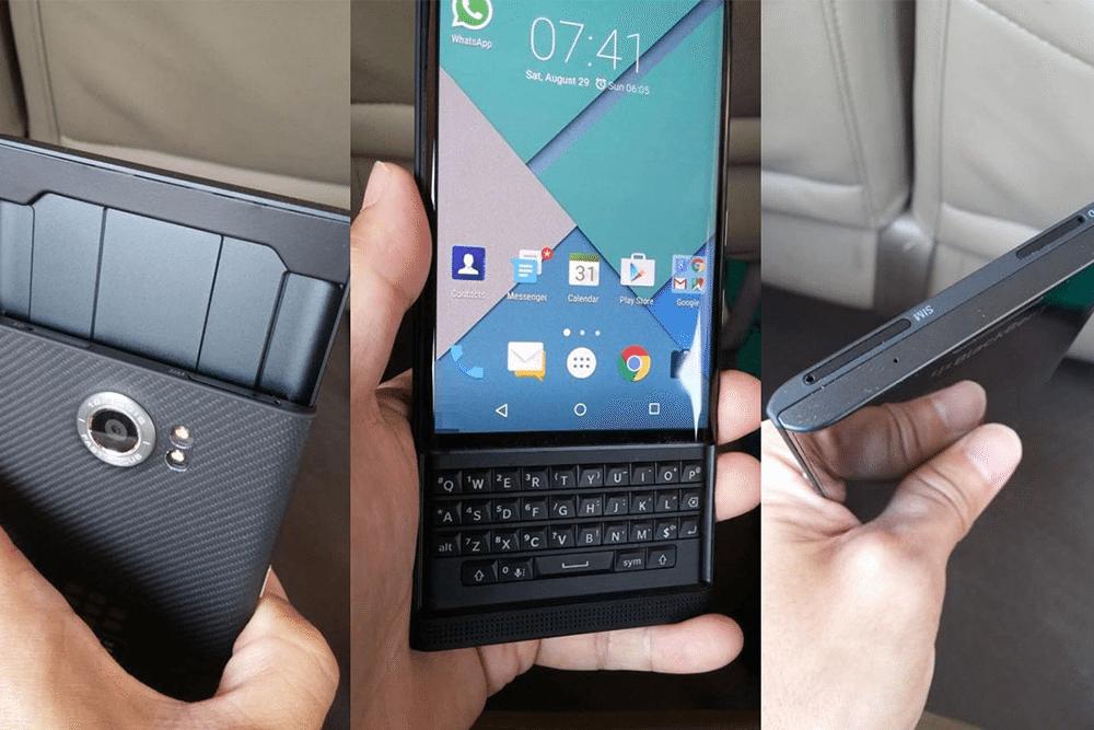 BlackBerry Priv con Android