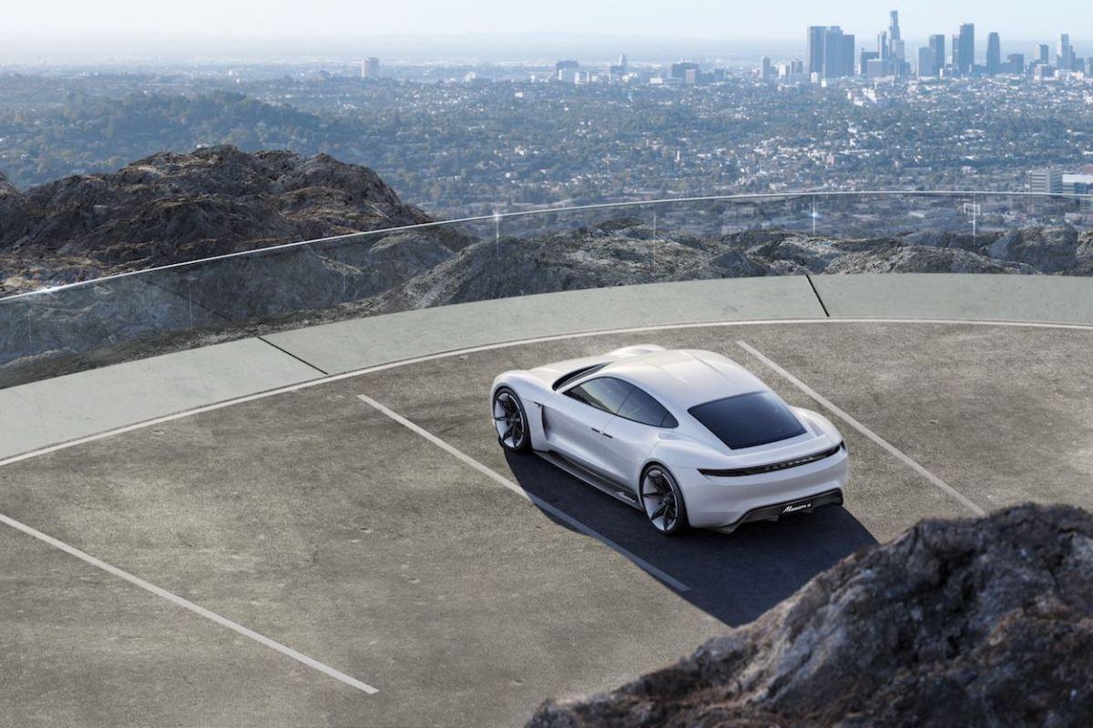 Porsche Mission E - Concepto