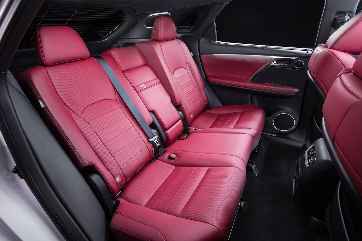 Interior Lexus RX 2016