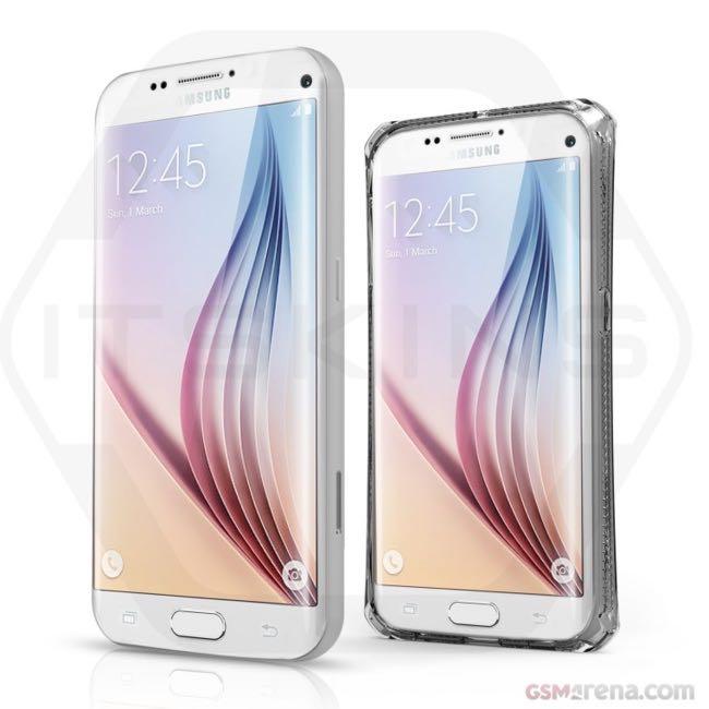 Render Samsung Galaxy S7 y Galaxy S7 edge
