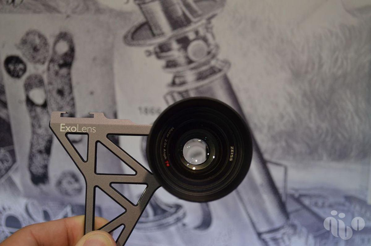 ExoLens con Zeiss para iPhone