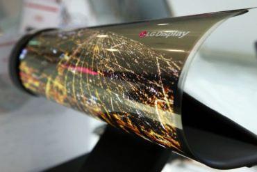 Televisor LG que se enrolla como periódico CES 2016