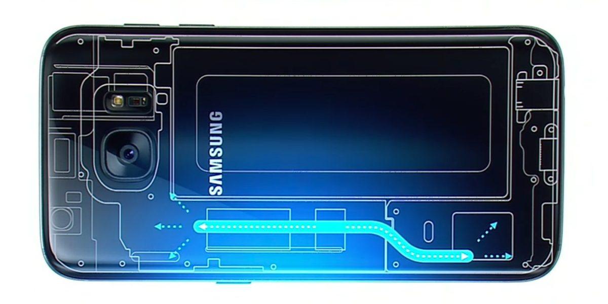 Sistema de enfriamiento del Samsung Galaxy S7