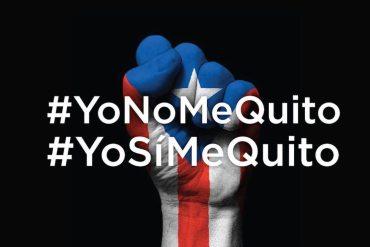 Yo no me quito. Yo sí me quito Puerto Rico