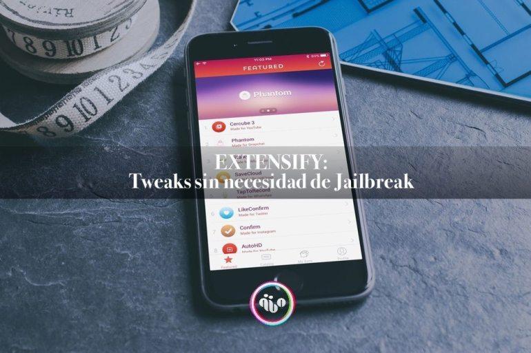 Extensify, tweaks sin jailbreak