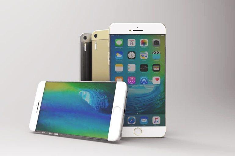 Concepto iPhone 7 sin bordes