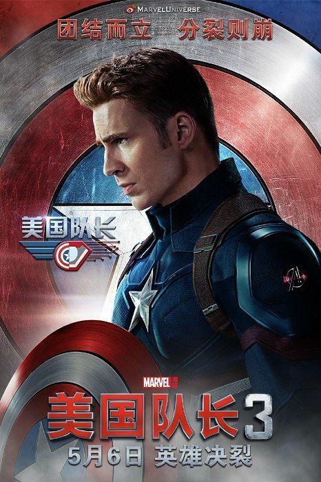 captain america poster civil war