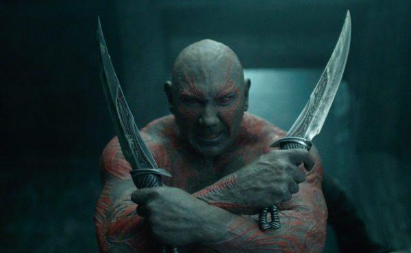 Dave Bautista en Guardians of the Galaxy