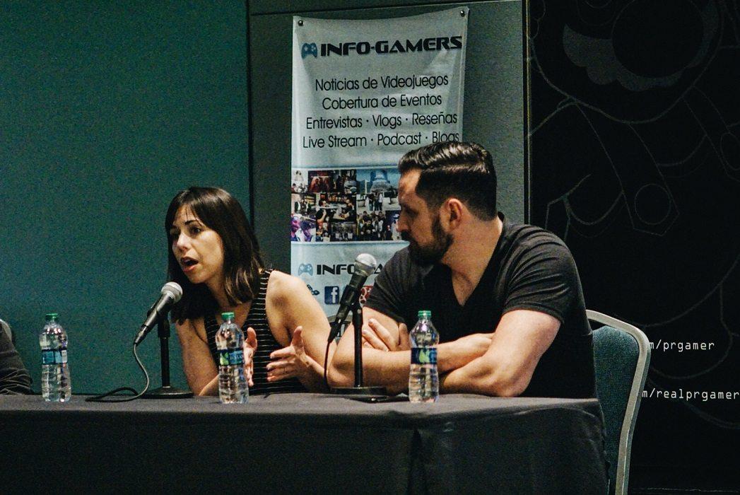 Laura Bailey Travis Willingham Puerto Rico Comic Con