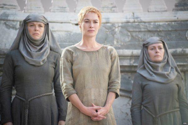 Lena Headey Cersei Lannister Walk of Shame
