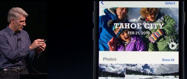 Fotos en iOS 10
