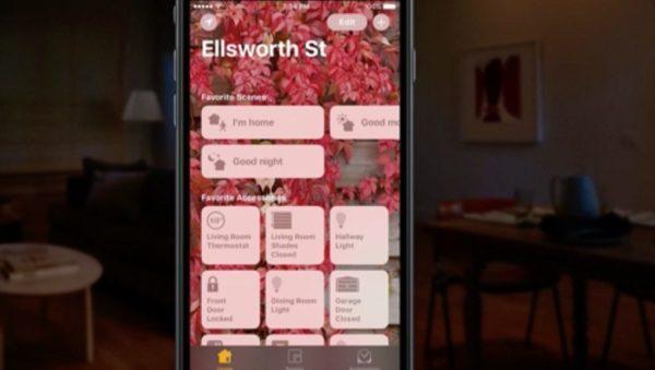 Aplicación de Home en iOS 10