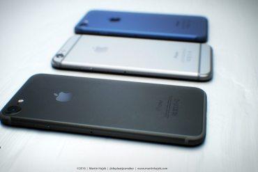Render iPhone 7 en Dark Space