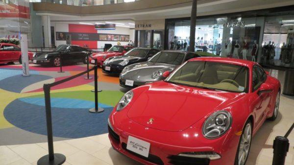 Exhibción Porsche 911 Mall of San Juan Puerto Rico