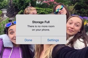 El nuevo anuncio de Google se burla de los 16GB del iPhone