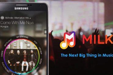 Samsung Milk Music
