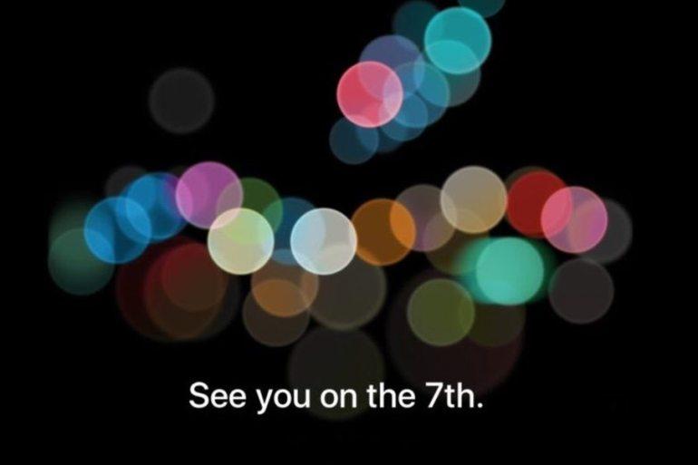 Fecha presentación iPhone 7