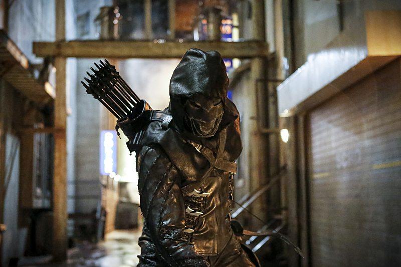 Nuevas imágenes de Arrow (S05) presentan el villano Prometheus
