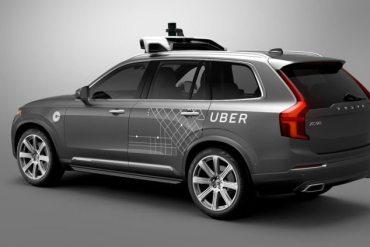Uber carro autónomo