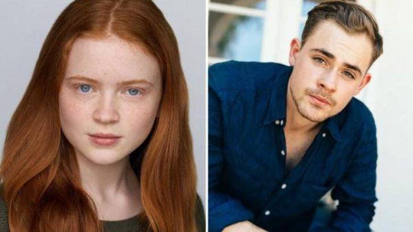 Sadie Sink (Max) y Dacre Montgomery (Billy) en segunda temporada de Stranger Things