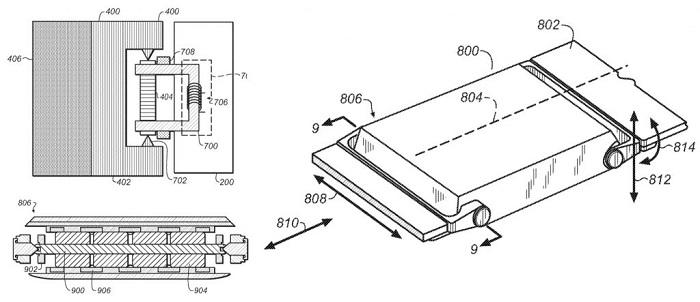 Patente Apple Watch Series 3 más delgado