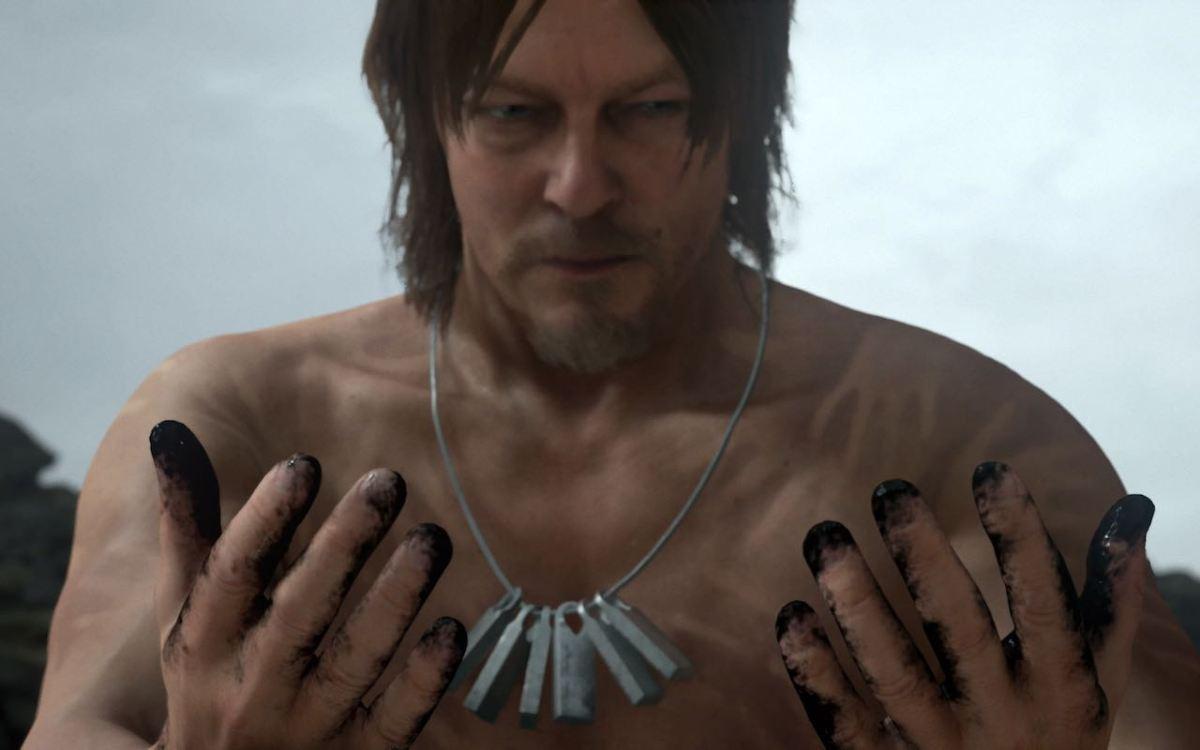 Norman Reedus en Death Stranding - Hideo Kojima