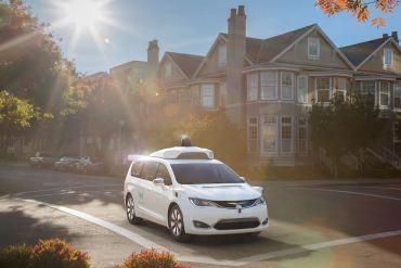 Chrysler Pacifica de Waymo - Google