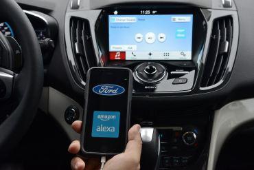 Ford Sync 3 y Alexa