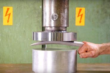 wolverine vs prensa hidráulica