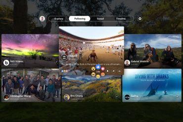 Facebook 360 Gear VR