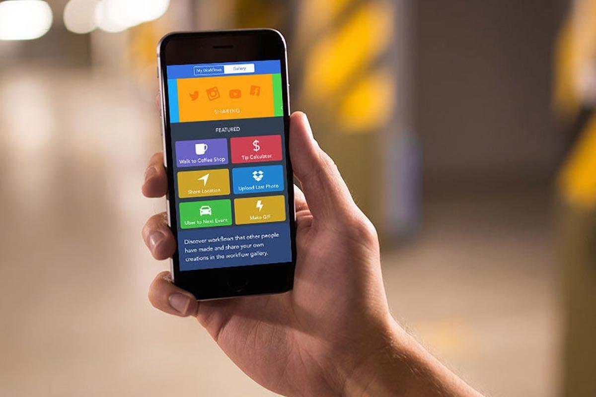 Workflow app iOS
