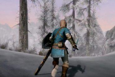 Link Zelda The Elder Scrolls V: Skyrim