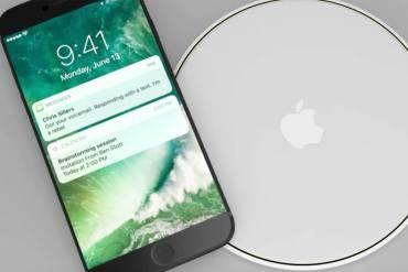 iPhone carga inalámbrica