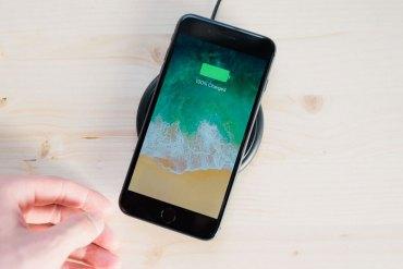 iPhone 8 Plus carga inalámbrica